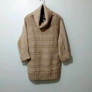 Alfred Sung tan sweater size xl